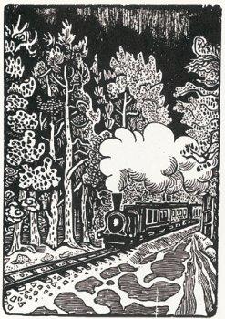 Eisenbahn im Wald