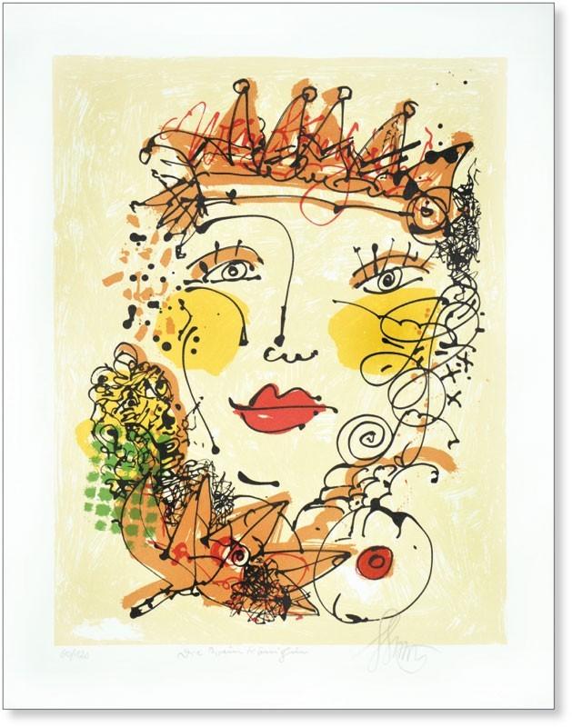 Die Weinkönigin