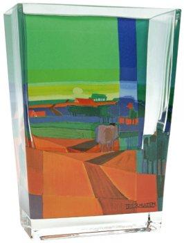 """Glasvase """"Über den Hügeln"""""""