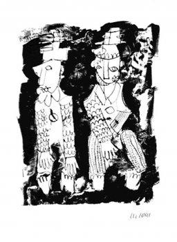 Pierrot und Harlekin