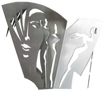 Face in motion II