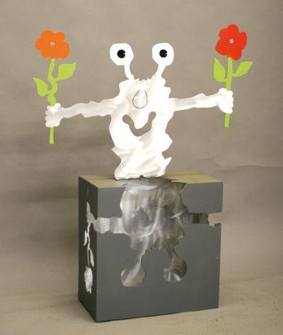 Aus einem Stück (Monster mit Blumen)