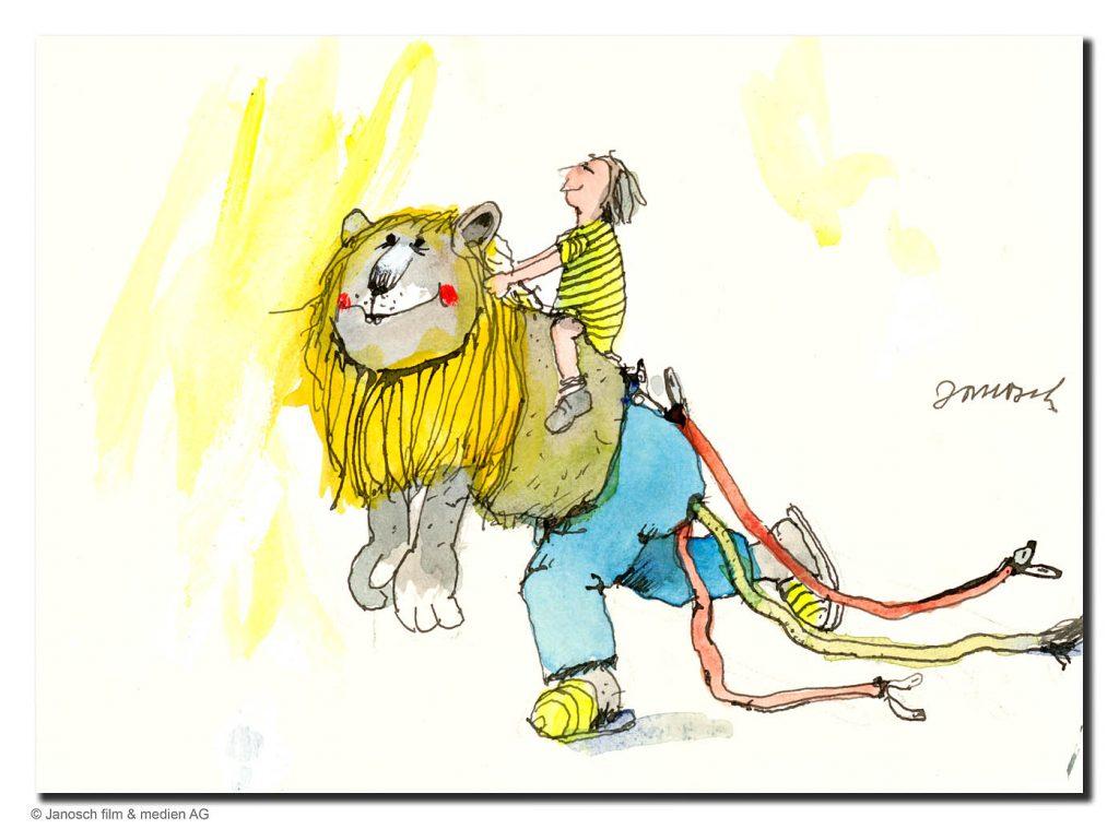JANOSCH - Löwenritt