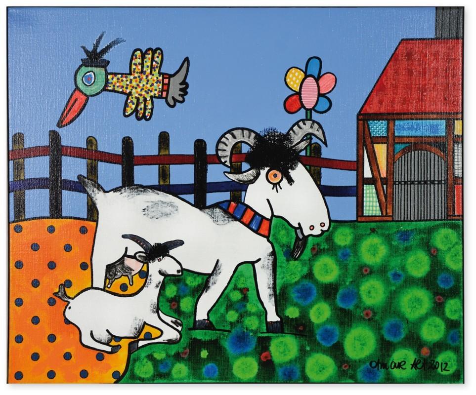Landleben mit ZiegenI