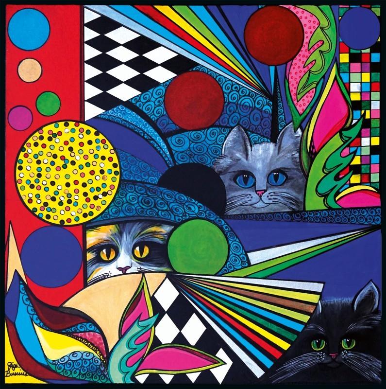 Tre gatti meravigliosi