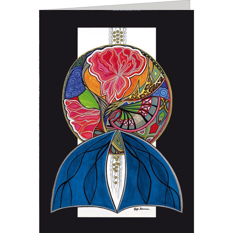"""Kunst Doppelkarte """"Der Duft"""" - Gigi Banini"""