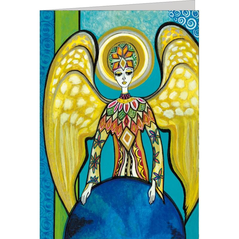 """Kunst Doppelkarte """"Angelo"""" - Gigi Banini"""