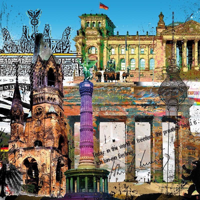 "Galleryprint ""Berlin"" Leslie G Hunt"