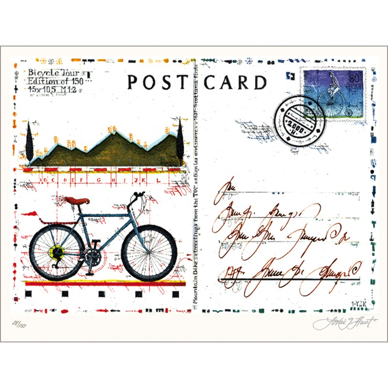 Postcard Bicycle